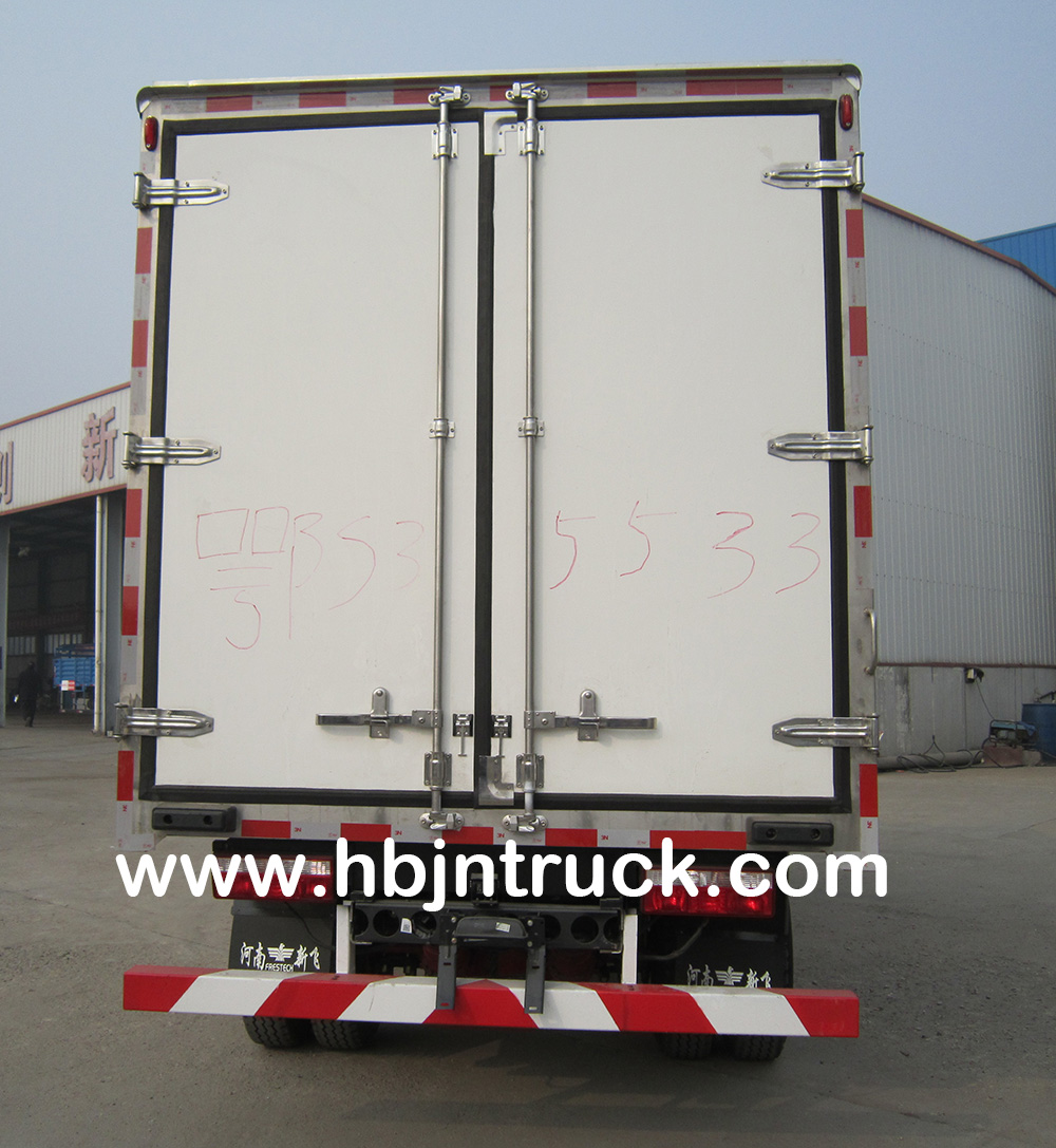 refrigerated lorry truck