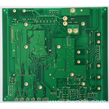 Smooth solder mask surface pcb