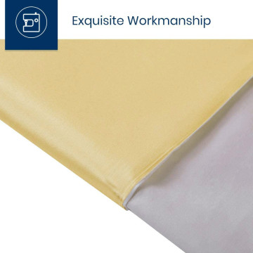 19 Momme Natural Silk Pillowcases with Hidden Zipper