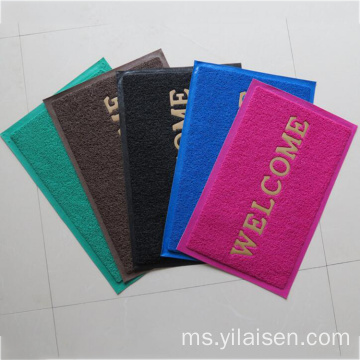 PVC coil cushion anti slip slip mat