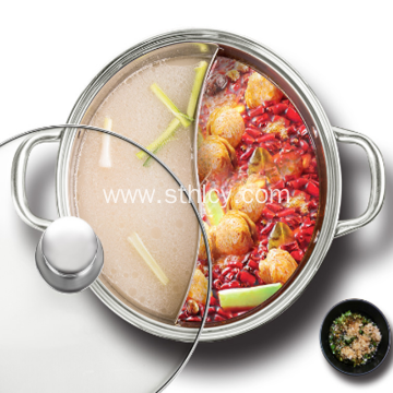 Huge Capacity Stainless Steel Hot Pot