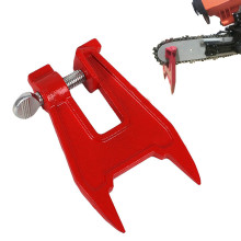 Metal Stump Vise Saw Chain Sharpening Filing Tool Bar Clamp Chainsaw Accessories Tool Parts Stump Vise for any chainsaw owner