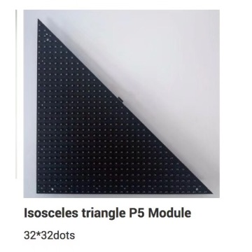 Indoor customized triangle module