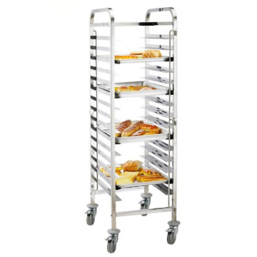 Stainless Steel 304 Single-Line GN Pan Trolley