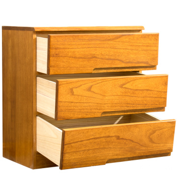 The simple modern bedroom of the solid wood cabinet Bedside cupboard,Custom-made wooden drawer cabinets