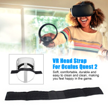 Durable Strap Fixed Easy Clean For Oculus Quest VR 2 Game Accessories Replacement Parts Elastic Band Soft Relieves Pressure