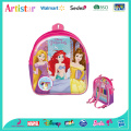 DISNEY PRINCESS mini license backpack with stationery