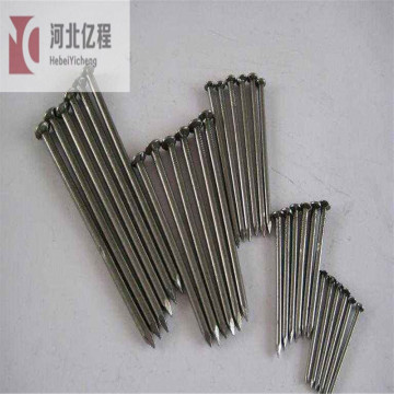 hardened galvanized steel grooved concrete coil nails