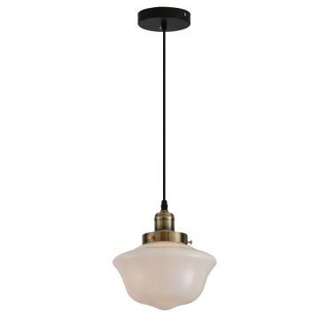 Modern flush mount glass pendant lamp for dinning room