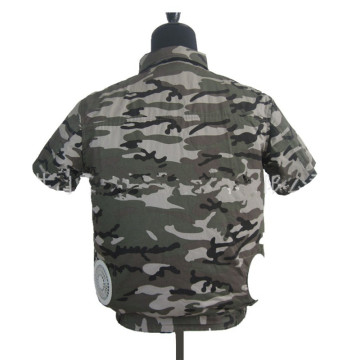 Outdoor Camo Air Conditioned Cooling Vest