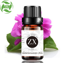 100% pure organic natural geranium essential oil