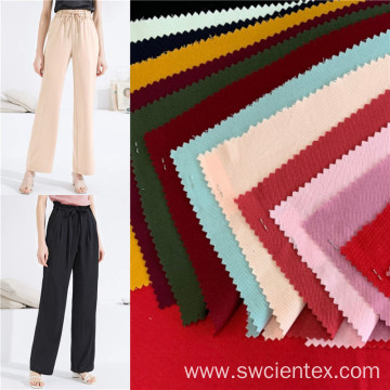 Wholesale 97% Rayon 3% Spandex Ladies Pants Fabrics