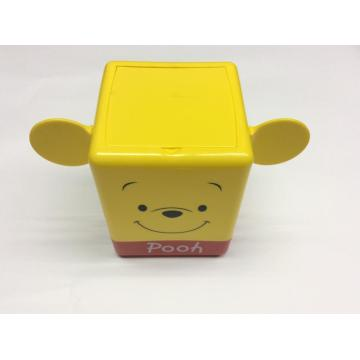 Plastic children cartoon storage box
