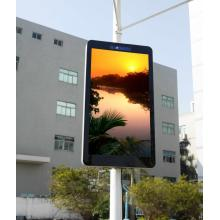 Advertising led screen totem