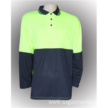 New design Men's safety polo shirt