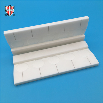 high temperature precise alumina ceramic platform plate