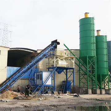 Light weight JS concrete mixer in Morocco