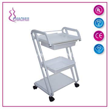 Metal Trolley With Plastic Drawers