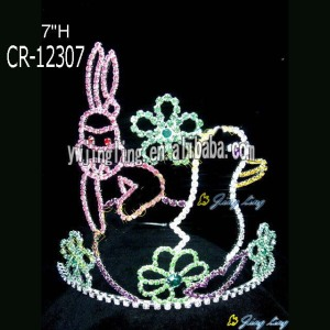 Custom Holiday Rabbit Easter Crowns
