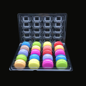 food thermoforming blister macaron trays packaging