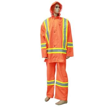300D Oxford PU Fire fighting clothing