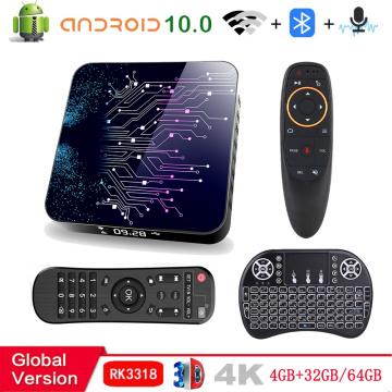 2020 Smart Tv Box Android 10 4G 64Gb 32Gb 4K Media Player 3D Tv Box Wifi Smart Tv Set Top Box Bluetooth 4.0