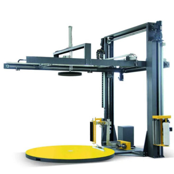 Automatic Stretch Wrap Machine with Top Sheet Dispenser