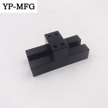 CNC Machining Aluminum Anodize Parts With Black