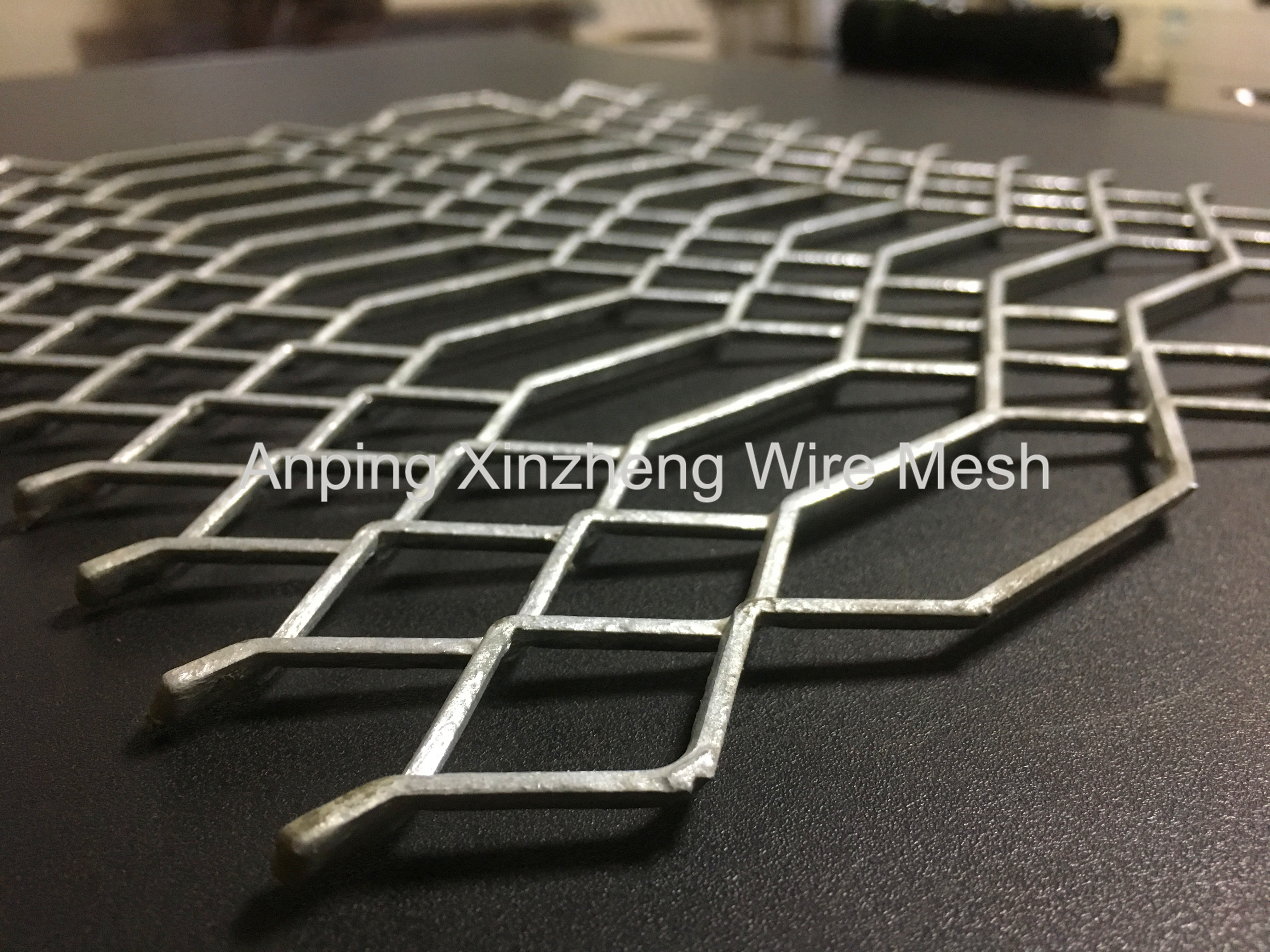 Expanded Mesh Metal