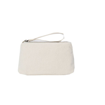 Canvas Leather Women Magazine Clutch Purse Bag