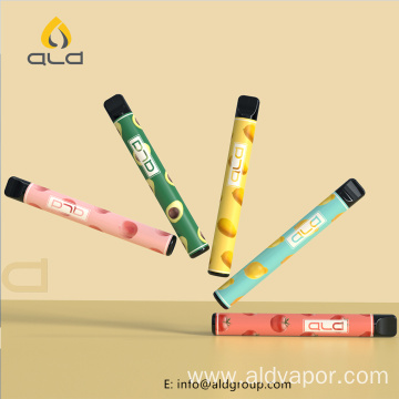 800 Puff Round Shape Vape Bar Electronic Cigarette