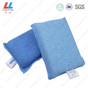 household cleaner dishes sponge with handle
