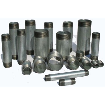 Carbon Steel Barrel Nipple Galvanized