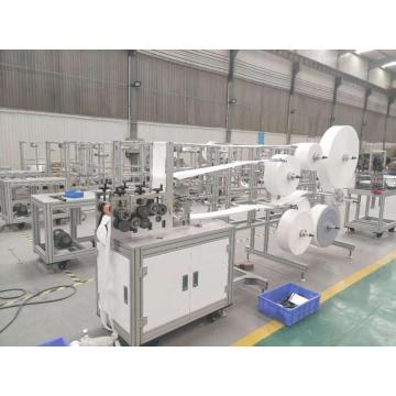 Semi-automatic high speed KN95 mask tablet machine