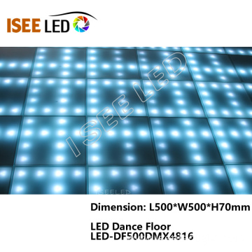 RGB led dance floor for disco decor