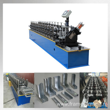 C U profile making machine