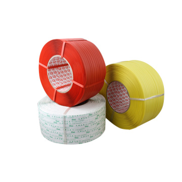 Hand grade using plastic polypropylene strapping