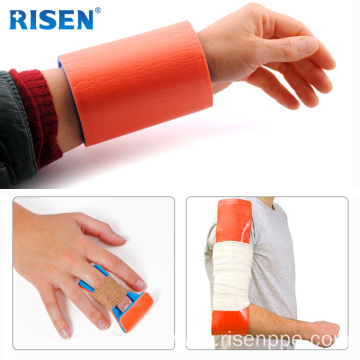 Waterproof Medical Emergency Splint Roll Types Plastic