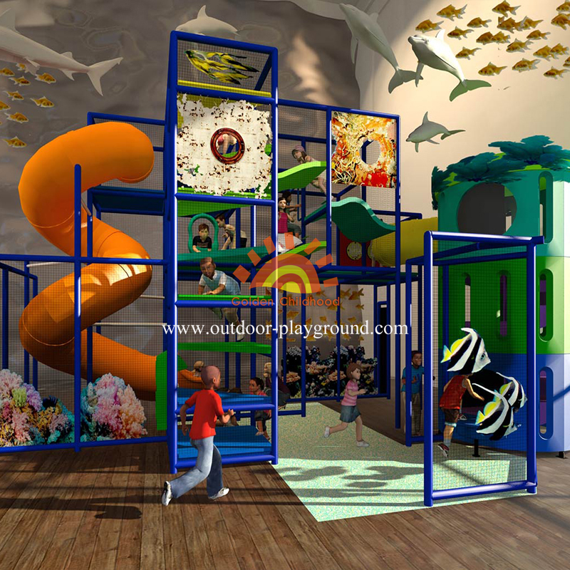 Ocean Themed Playground For Kids