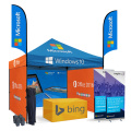 Brand Printing 10x10ft IT Advertising Tent with Flags