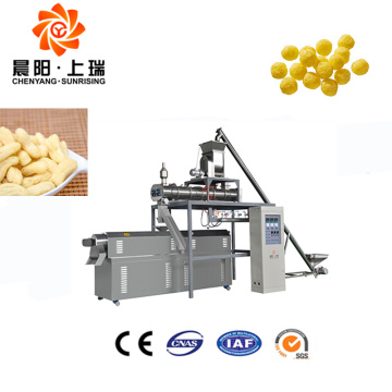 Extruder snack puffing machine fried corn chips machines