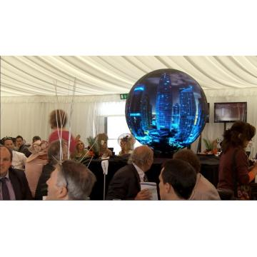 P5 7.2m diameter indoor led sphere display