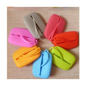 Lady Fashion Silicone Purse for Key Rubber Candy Bag