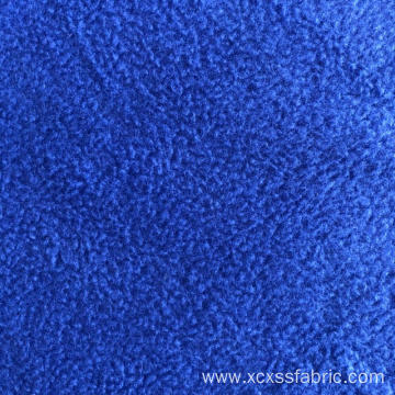 Custom Polyester dyed solid micropolar fleece fabric