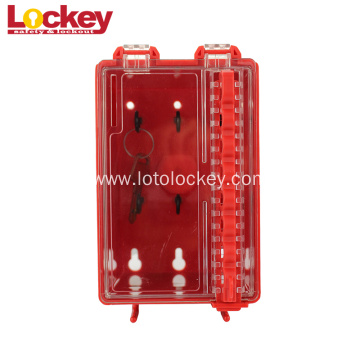 Wall-Mounted Small Hanging Safety Group Lockout Plastic Box