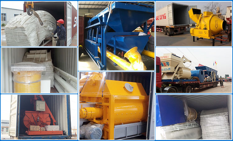 Small Mobile Concrete Mixing Plant
