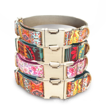 Adjustable Leather Neck Dog Collar.