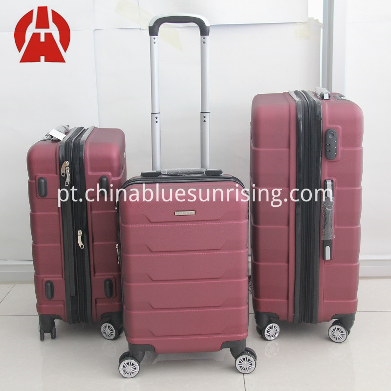 ABS PC LUGGAGE TROLLEY SET