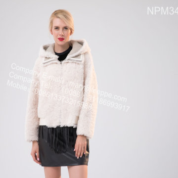 Short Icelandic Lamb Fur Jacet For Women