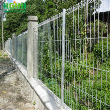 Rolled edges galvanized brc fence in stock